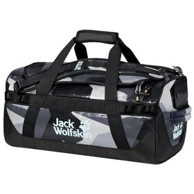 Jack Wolfskin Expedition Trunk 30 Duffel Bag, grey geo block